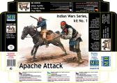 Master Box Ltd Apache Attack, Indian Wars