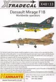 Xtradecal Dassault Mirage F.1B