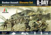 "Italeri Bunker Assault Diorama Set ""D-Day Normandy 1944"""