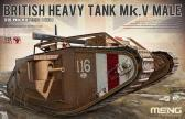Meng Heavy Tank Mk.V Male with Full Interior