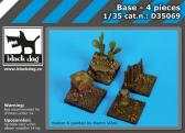 Black Dog Base - 4 pieces