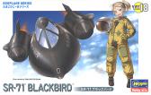 Hasegawa SR-71 BLACKBIRD