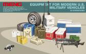 Meng Equipment for Modern U.S. Military Vehicles