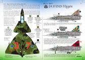 Research Based Design SAAB JA37/JA37D/JA37Di Viggen - Decals
