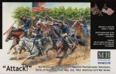 Master Box Ltd Attack 8th Pennsylvania Cavalyr 89th Regiment Pennsylvanian Volunteers, Battle o