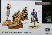 Master Box Ltd Arika Korps: German Tankmen