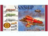 Hasegawa Last Exile Tatiana's Vanship & Fam's Vespa