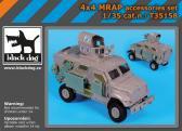 Black Dog 4x4 MRAP accessories set