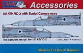 AML IAI Kfir RC-2 w Tsniut Camera Nose - Conversion Set for IAI Kfir C-2