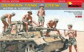 MiniArt Afrika Korps German tank crew