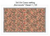 "Eduard Camo Netting ""Barracuda"" Desert - Color Photo Etch Set"