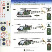 "Hobby Center Sud Aviation SE 3130 Alouette II ""Swedish Air Force, Marine and Army Hkp2"""