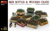 MiniArt Beer Bottles & Wooden Crates
