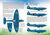 """Moose Republic Decals S31 Spitfire """"Swedish Air Force"""" - Decals"""