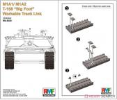 """Rye Field Model M1A1/M1A2 T-158 """"Big Foot"""" Workable Track Link"""
