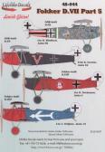 Lifelike Decals Fokker D.VII's. Fokker D.VII (OAW) - Decals