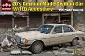 Diopark 70's German made Civilian Car w IED Accessory