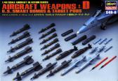 Hasegawa Aircraft Weapons D : US Ssmart Bombs & Target Pods