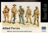 Master Box Ltd Allied Forces, WWII, North Africa