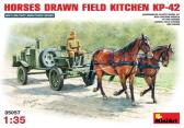 MiniArt Horse Drawn Field Kitchen KP-42