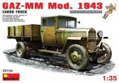 MiniArt GAZ-MM Mod.1943 Cargo Truck