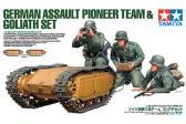 Tamiya German Assault Pioneer Team & Goliath Set