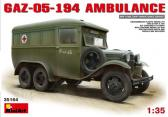 MiniArt GAZ-05 194 Ambulance