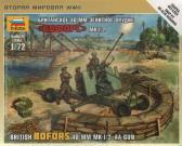 Zvezda British Bofors 40mm Mk. 1/2 AA-Gun