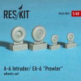 "ResKit A-6 ""Intruder"" / EA-6 ""Prowler"", Wheels (HBB, KIN)"