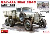 MiniArt GAZ-AAA Mod. 1943 Cargo Truck