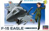 Hasegawa F-15 EAGLE Eggplane Series