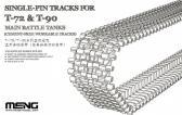 Meng Single Pin Tracks (For T72 & T90 Main Battle Tanks)