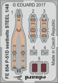 Eduard P-51D Seatbelts STEEL (AFX)