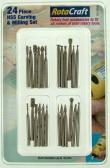 Shesto Ltd 24pc HSS Carving & Milling set