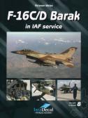 IsraDecal F-16C/D Barak in IAF Service - Book