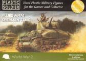 Plastic Soldier M4A1 Sherman (x5)