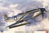 Hasegawa P-51D Mustang™ w/Rocket Tubes