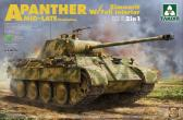 """Takom Panther Ausf. A """"Mid/late"""" w Full Interior"""