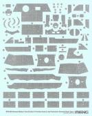 Meng Sd.Kfz.171 Panther Ausf. A (Late) Zimmerit Decal A