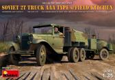 MiniArt 2t Truck AAA TYPE with Field Kitchen