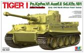 Rye Field Model Tiger I Initial Production, Early 1943 North African Front / Tunisia
