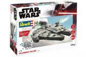 Revell STAR WARS MILLENNIUM FALCON MODEL KIT, 1:164