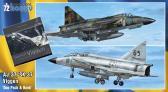 Special Hobby SAAB AJ-37/SK-37 Viggen Duo Pack + Bok