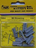 CMK M2 Browning US Aircraft Machine Guns (6 pcs.)