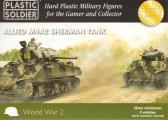 Plastic Soldier M4A2 Sherman (x5)