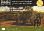 Plastic Soldier M4A1 Sherman 76mm (x5)