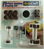 Shesto Ltd 25pc Sanding & Shaping set