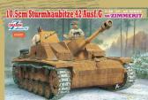 Dragon 10,5cm SturmHaubitze 42 Ausf. G with Zimmerit