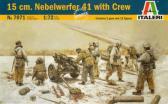 Italeri 15 cm Nebelwerfer 41 with crew