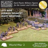 "Plastic Soldier German Infantry Heavy Weapons ""Late War"""